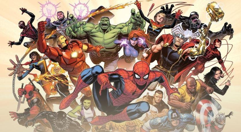 ver las películas de Marvel