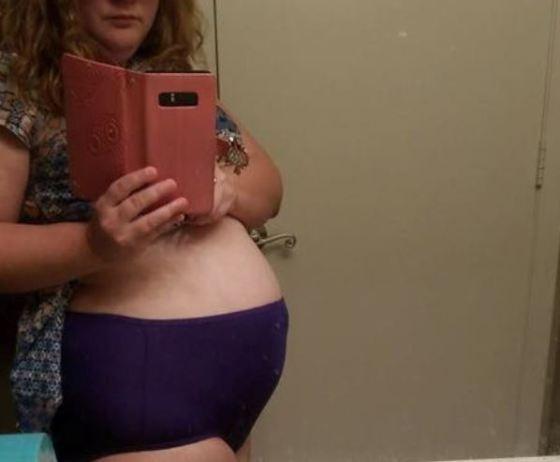 la gente piense que está embarazada