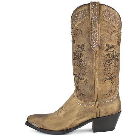 botín cowboy