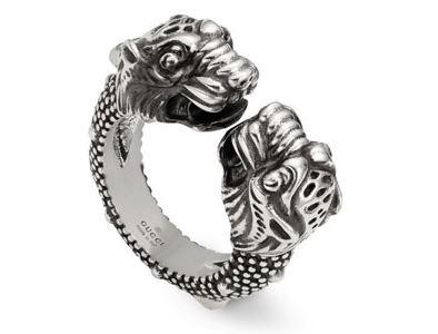 anillo Gucci tigre