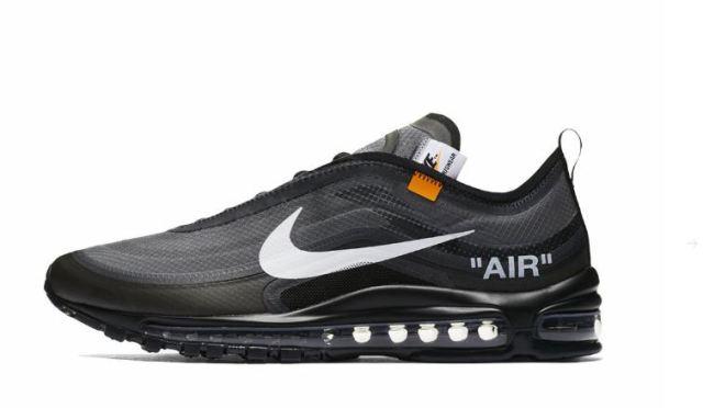 Conoce cómo serán las próximas Off White x Nike Air Max 97 Black