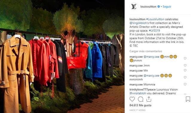pop up de Louis Vuitton en Londres