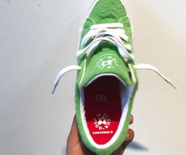 Llegan las zapatillas Grinch 2018, gracias a Golf Le Fleur x Converse