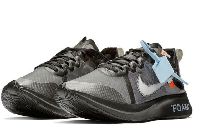 Una mirada más completa a las Off White x Nike Zoom Fly