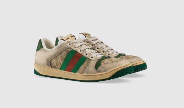 Gucci acaba de lanzar unas zapatillas desgastadas por 690€
