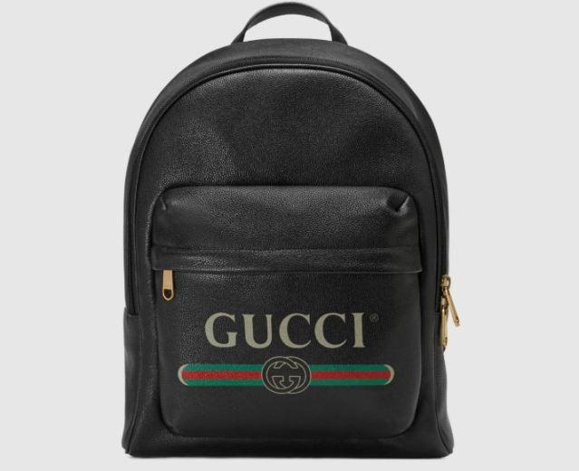 La mochila Gucci Print con logo vintage, nuevo objeto de culto