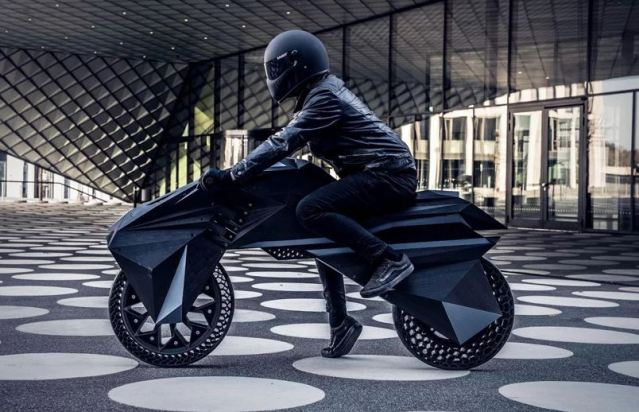 BigRep presenta 'Nera', la primera motocicleta eléctrica impresa en 3D