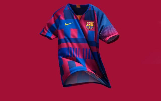 Nueva camiseta para celebrar los 20 años de relación entre Nike y FC Barcelona