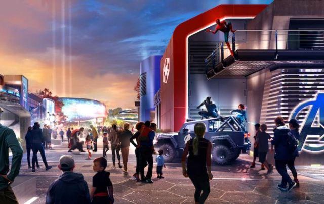Disneyland París revela una imagen de cómo será el área de Marvel