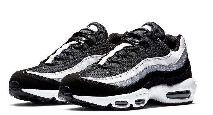 Nike Air Max 95 blancas y negras