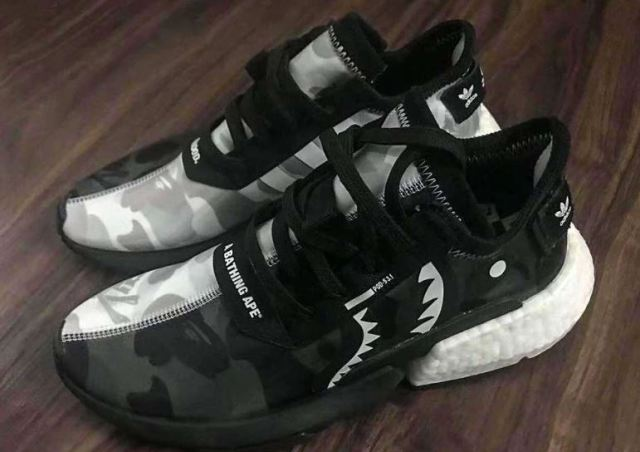 Un primer vistazo a las BAPE x NEIGHBORHOOD x adidas POD-S3.1