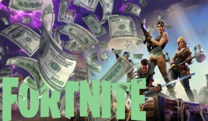 dinero gana Fortnite