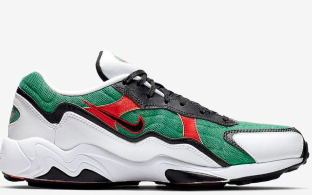 Las nuevas Nike Air Zoom Alpha Lucid Green que nos recuerdan a Gucci