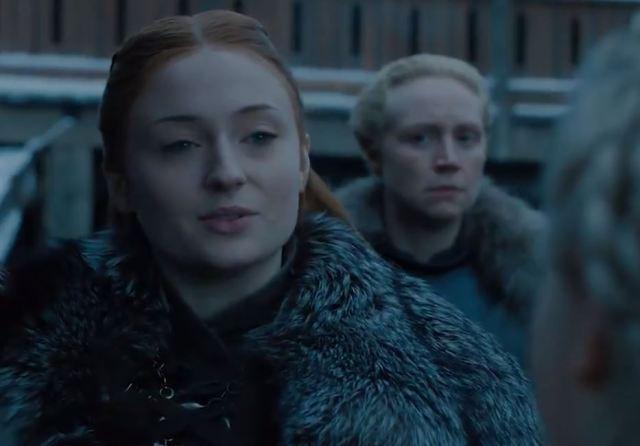 El nuevo clip de 'Juego de tronos' muestra a Daenerys llegando a Invernalia