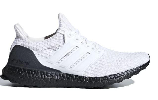 Llegan unas adidas UltraBOOST Black White bastante discretas