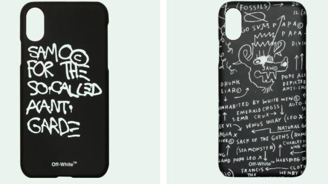 Más amor por Basquiat con las fundas de Off White para el iPhone X