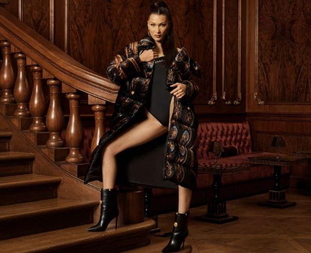 Bella Hadid, protagonista de la campaña de la colaboración KITH x Versace