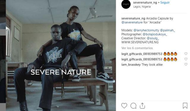 marca de moda nigeriana