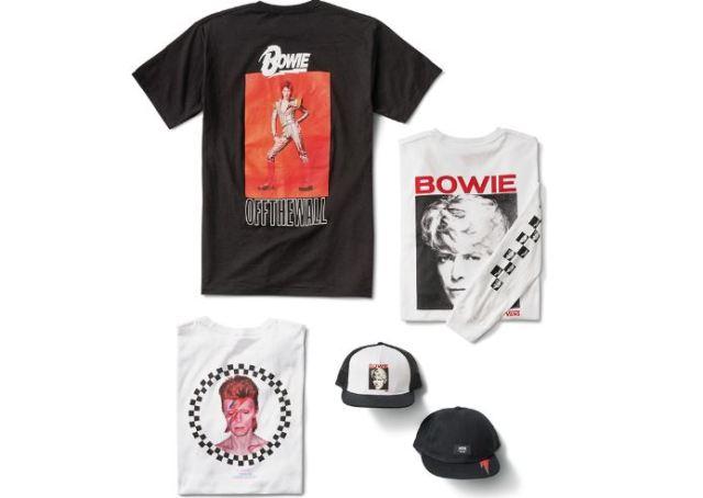 colección de David Bowie de Vans