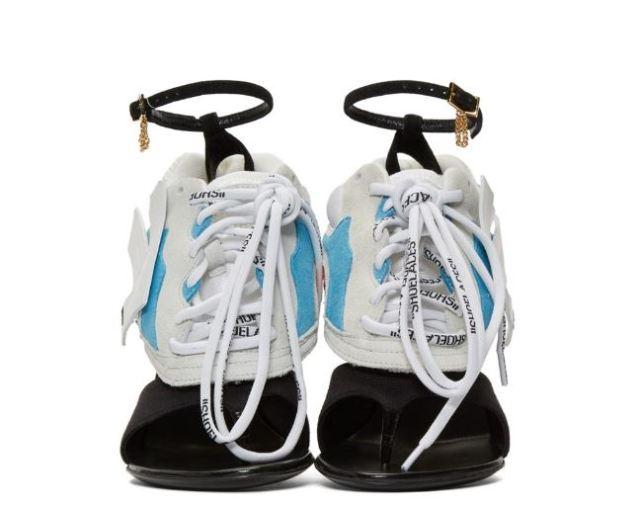 Las sandalias más raras de los últimos tiempos podrían ser estas Runner Heel de Off-White