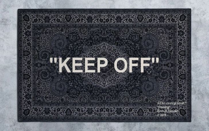 alfombra KEEP OFF