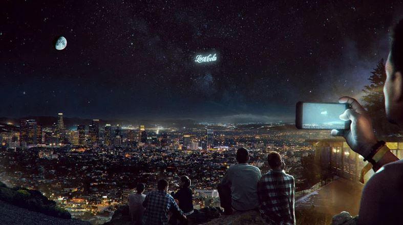 anuncios en el cielo