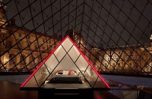 AirBnB ofrece la oportunidad de dormir en el Museo del Louvre