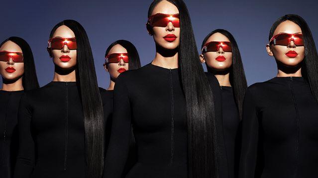 gafas de Kim Kardashian