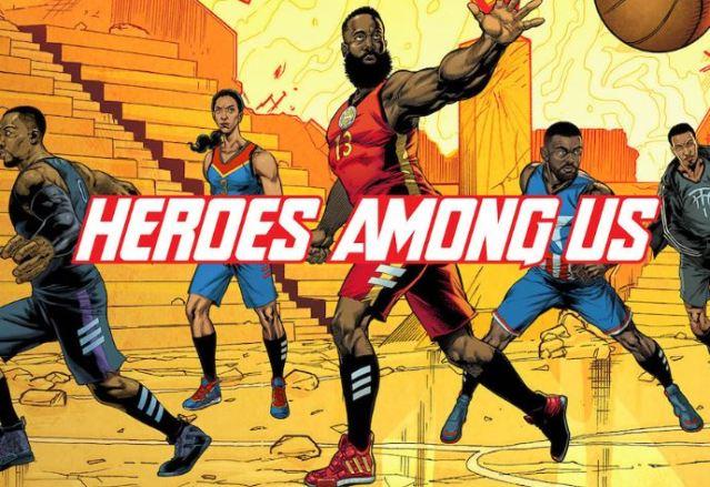 Marvel y adidas se unen para mostrar los superpoderes de las estrellas del Baloncesto