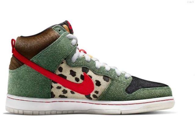 """Nike SB anuncia el lanzamiento del Dunk High """"Walk the Dog"""" inspirado en una variedad del cannabis"""