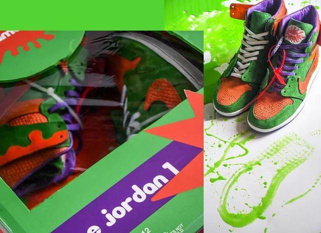 AJ1 inspiradas en Nickelodeon 2