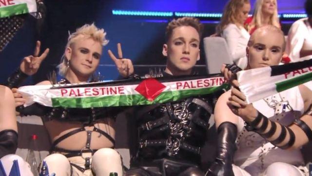 Islandia protestó contra la ocupación israelí de los territorios palestinos en Eurovision 2019