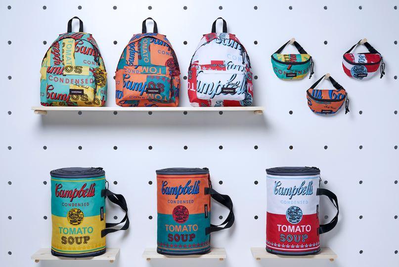 latas de sopa de campbell