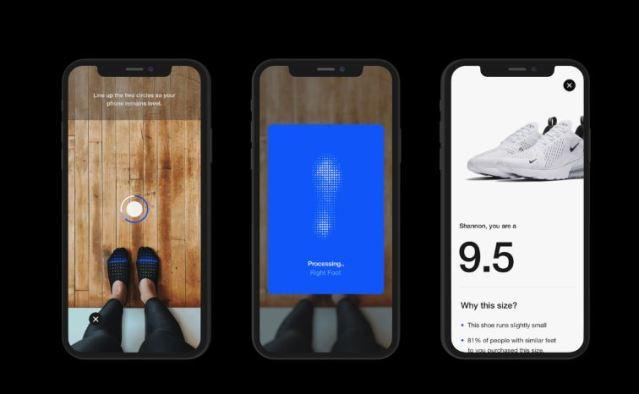 Nike Fit, la nueva tecnología de escaneo de la firma deportiva para encontrar tu talla de calzado ideal