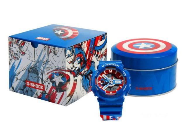 relojes de Avengers