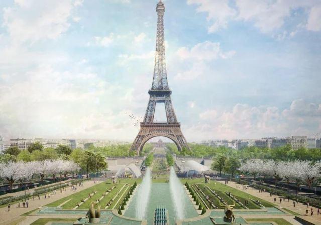 La torre Eiffel estará rodeada por un parque gigante