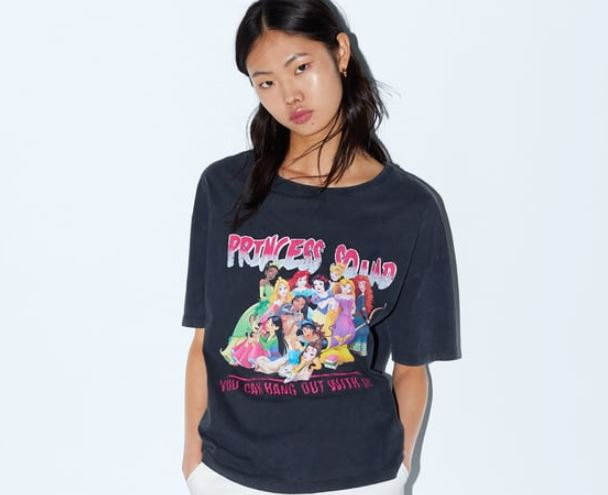 camisetas de Princesas Disney