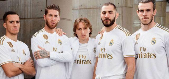 equipación del Real Madrid para la temporada 2020