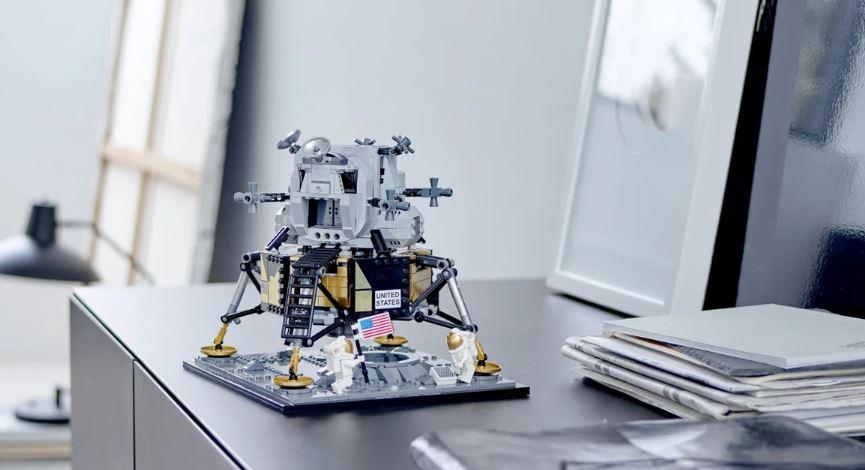 réplica del módulo lunar del Apollo 11