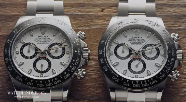 El vídeo que muestra lo difícil que es reconocer los Rolex falsificados
