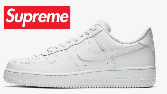Una nueva colaboración de Supreme x Nike Air Force 1 podría llegar