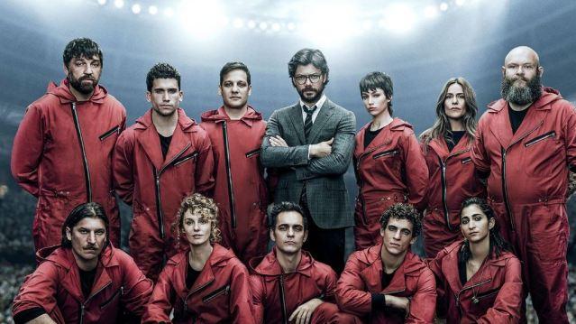 La Casa de Papel, mejor serie española de los últimos años para un 30% de los españoles