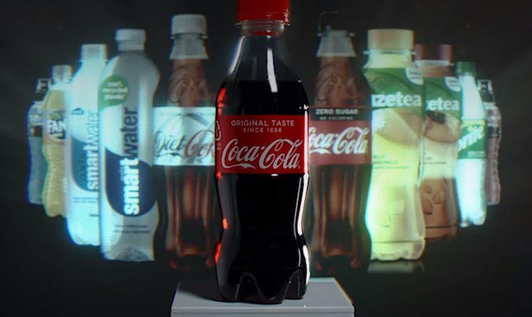 botella hecha con desechos plásticos