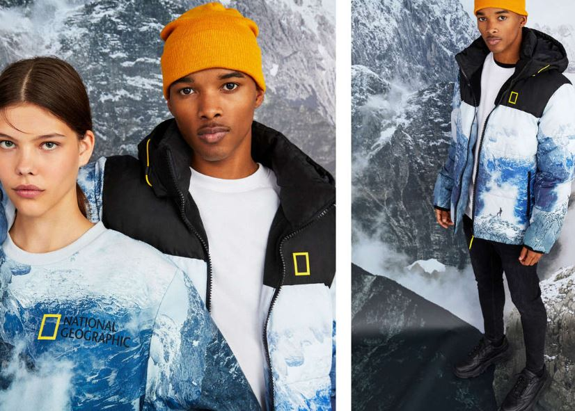 bershka x national geographic