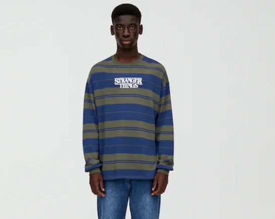 pull and bear x stranger things 3