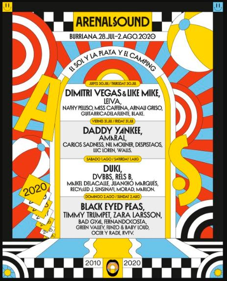 arenal sound 2020 cartel