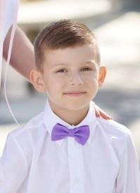 Perfectly Proper Purple Bow Tie ~ Boys - Elzoria