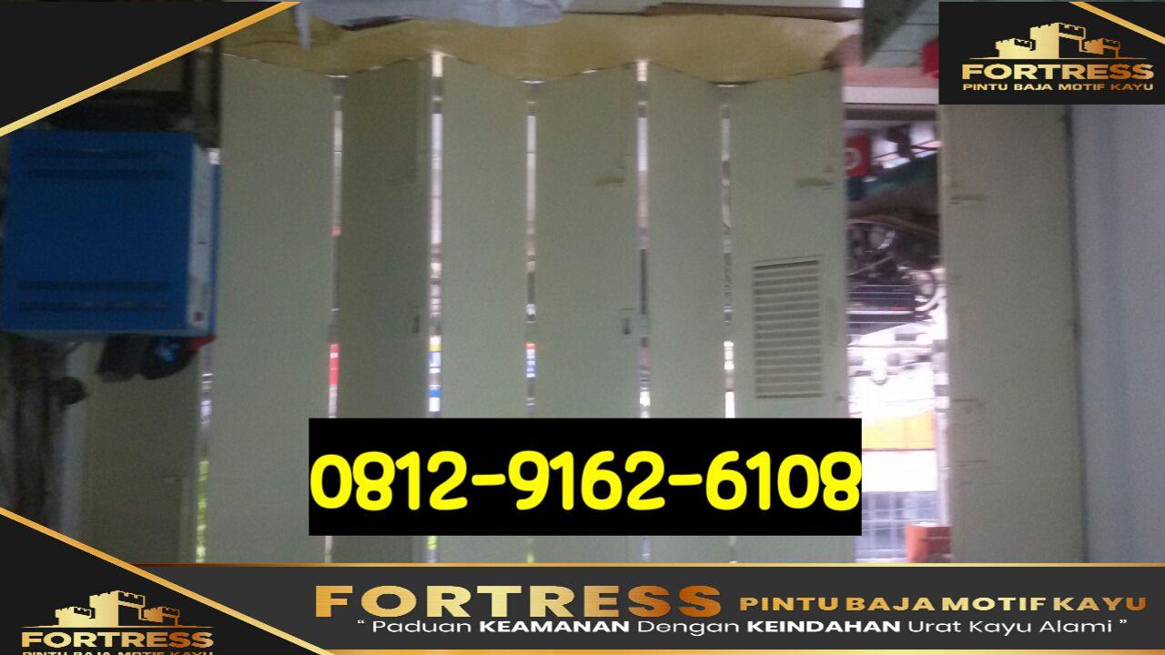 biaya membuat garasi mobil dengan baja ringan 0812 9162 6109 fortress buat pintu pembuatan