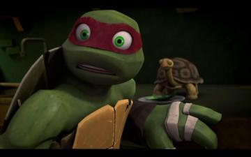 Tmnt Raph And Leo Brotherly Love - Year of Clean Water