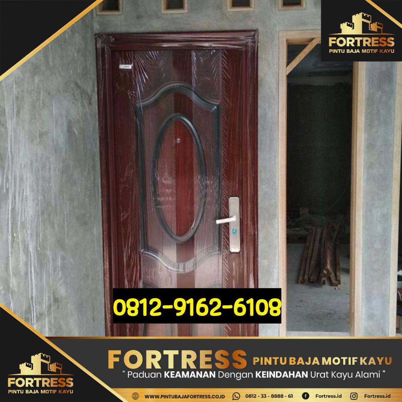 murah mana baja ringan atau kayu 0812 9162 6105 fotress pintu lapis